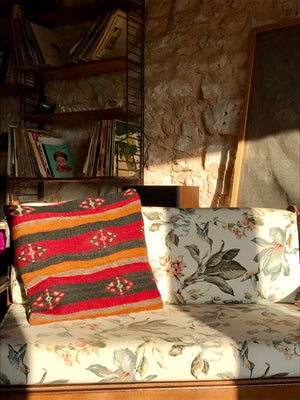 The Dragon - Kilim Bohemian Pillow Cover