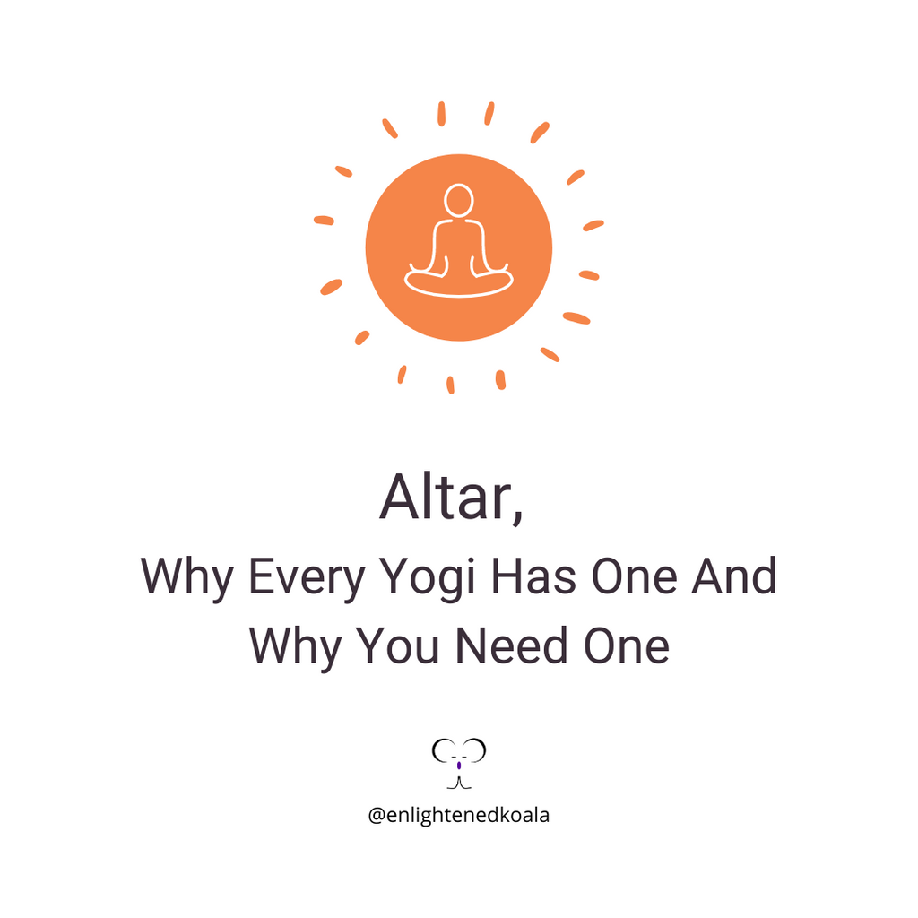 Altar, why every yogi has one and why you need one