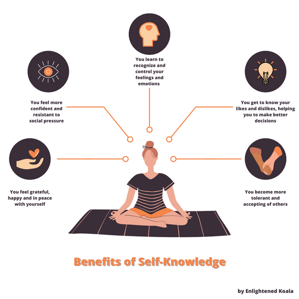 benefits of self-knowledge: how to get to know yourself and unlock your full potential