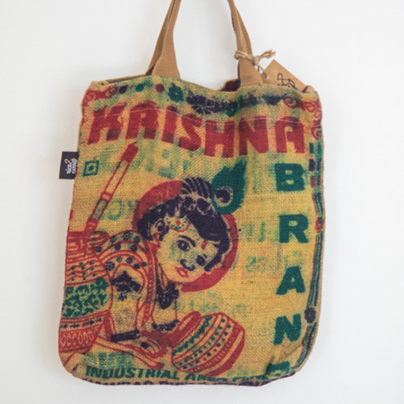 Hessian Bag - Enlightened Koala
