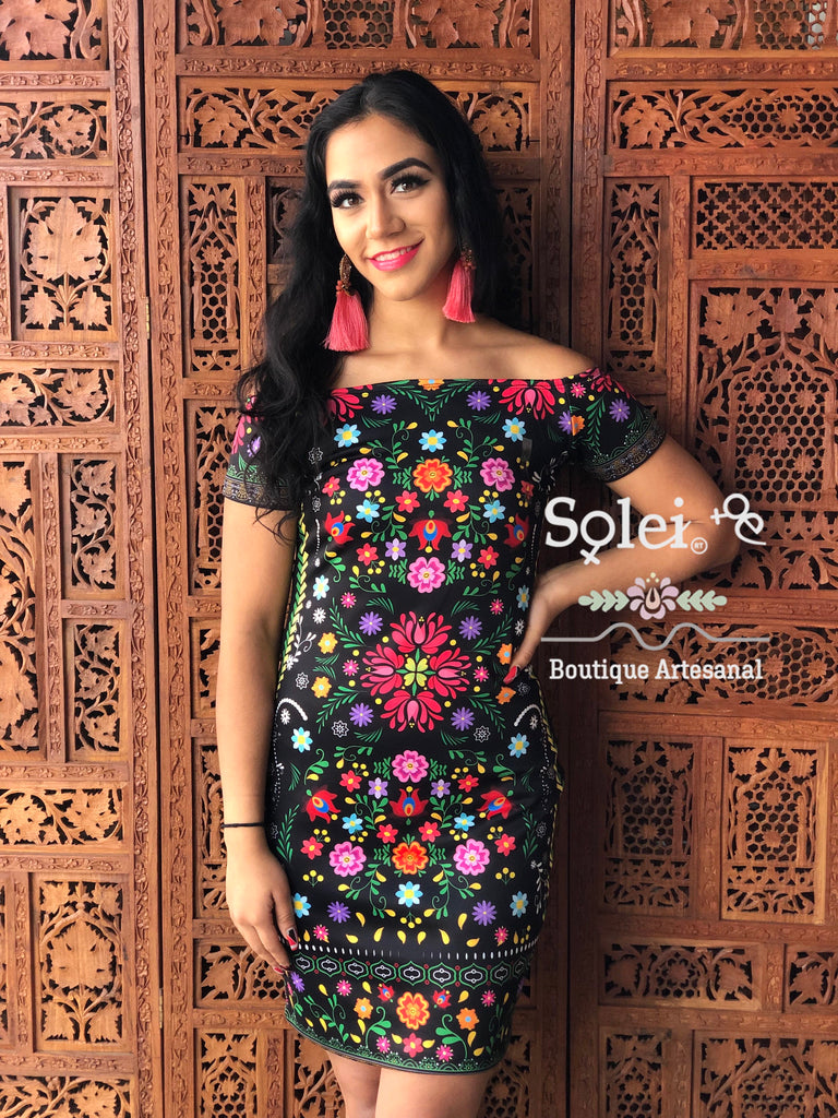 Sublimate Mexican Dress