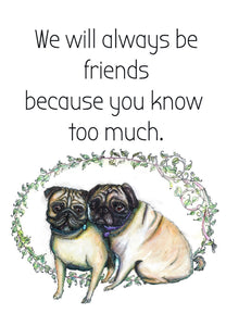 Always friends (sml card)