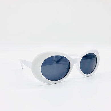 White Kurt Sunglasses