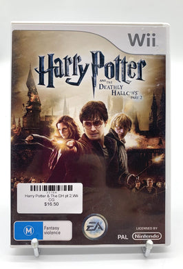 Harry Potter & The Deathly Hallows Part 2,Wii