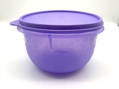 Tupperware 1L Purple Bowl