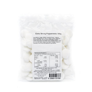 Extra Strong Peppermints 180g