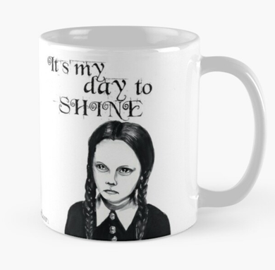 Wednesday Addams mug