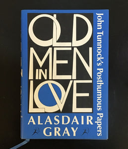 Old men in love Book