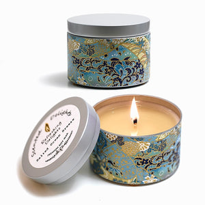 Salted Ocean Breeze Soy Candle - 30hr Tin