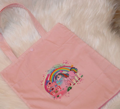 M132 Library bag - Unicorn