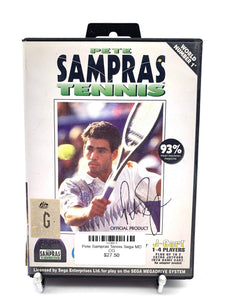 Pete Sampras Tennis Sega MD