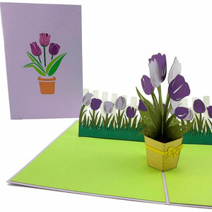 Bouquet of Tulips Card