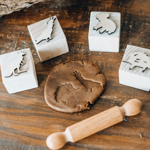 Australian Playdough Stamps