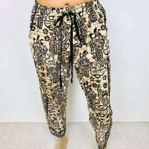 Rose India Relaxed Pants