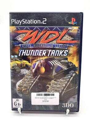 WDL Thunder Tanks PS2
