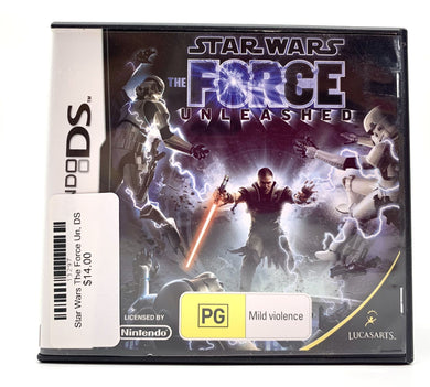 Star Wars The Force Unleashed, DS