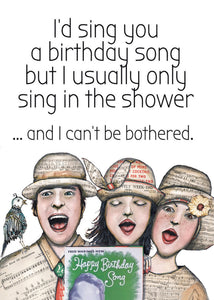 Birthday song (sml card)