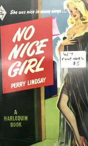 No Nice Girl Novel