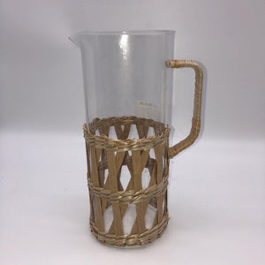 Wicker Wrapped Jug