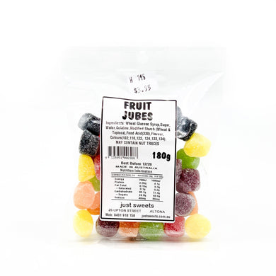 Fruit Jubes 180g