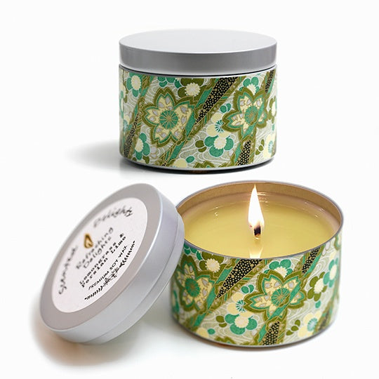 Lemongrass & Lime Soy Candle - 30hr Tin