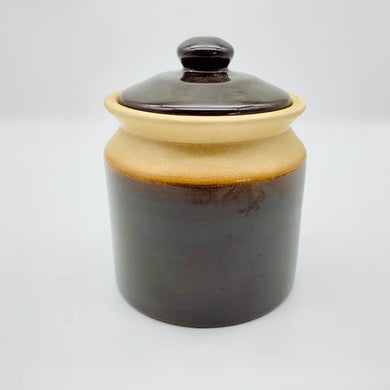 Small Vintage 1970's Ceramic Canister