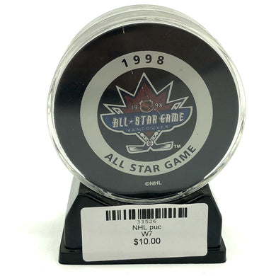 NHL Game Puck 1998