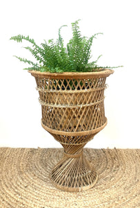 Cane Plant Stand