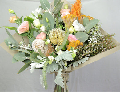 Wrapped Bunch Large - Pastel