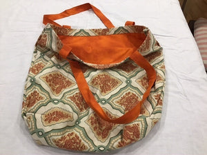 HM Tote Bag Orange Vintage