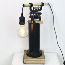 Load image into Gallery viewer, Vintage Brass Theodolite Lamp