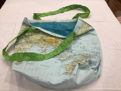HM Tote Bag World Map
