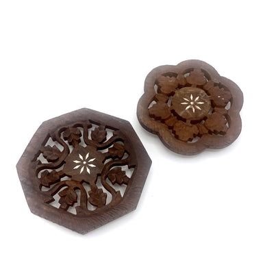 Wooden Carved Heat Protectors