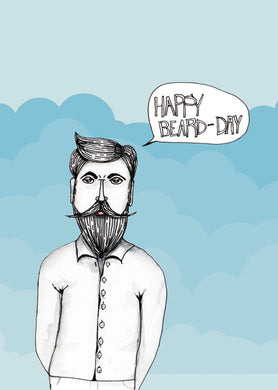Happy beardday (sml card)