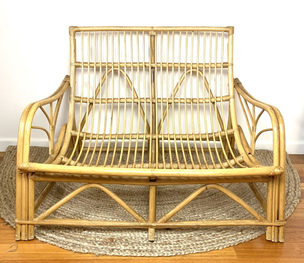 Cane Double Lounge Chair