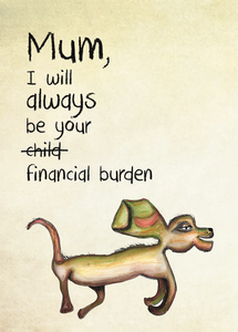Financial burden (sml card)