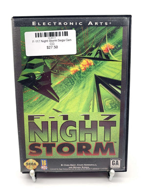 F-117 Night Storm Sega Genesis