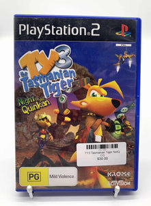 TY3 Tasmanian Tiger PS2
