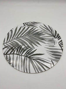 Grey Leaf Place Mat