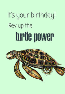 Turtle power (sml card)