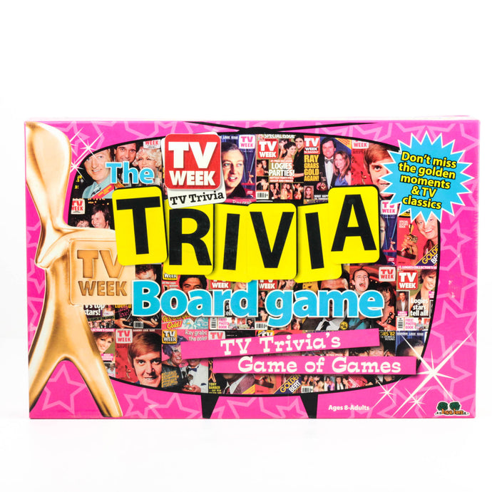 TV WEEK, THE TRIVIA BOARD GAME
