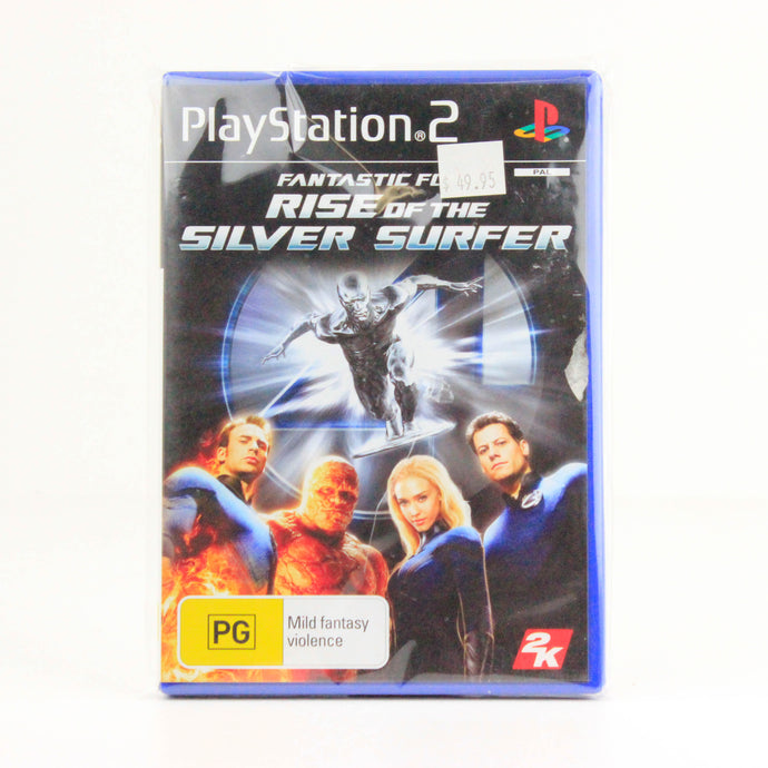 Fantastic Four - Rise of the Silver Surface, PlayStation 2