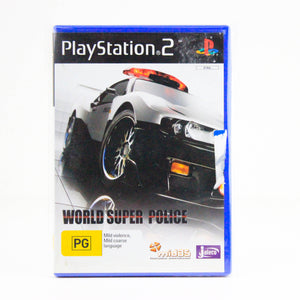 World Super Police, PlayStation 2