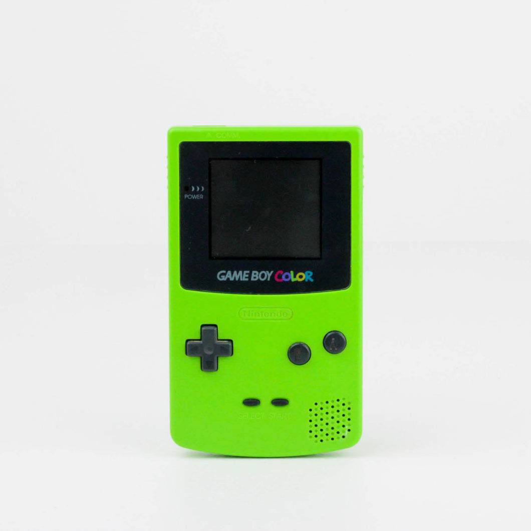 Game Boy Colour, Lime Green