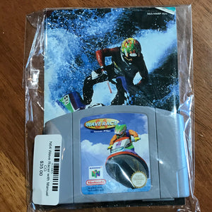 N64 Wave Racer with Manual