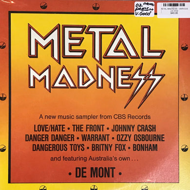 METAL MADNESS - VARIOUS