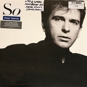 Peter Gabriel - So (1/2 SPEED)