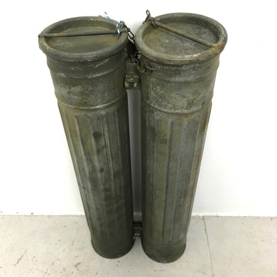 Double Tube Military Canister