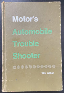Motor's Automobile Trouble Shooter 10th Edition