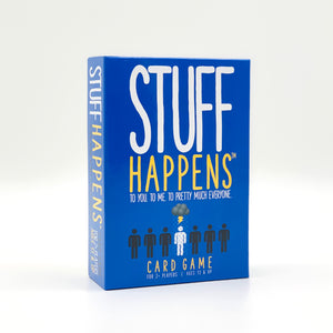 Stuff Happens Card Game